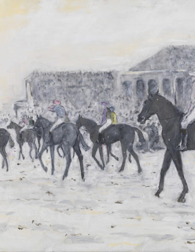 Down at the Start for 1901 Grand National