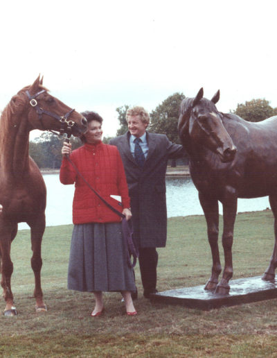 Mrs Moss with Lady Tavistock