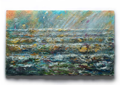 Stormy Sea At Criccieth